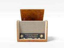 Old radio from Soviet Union. 3D render old radio from Soviet Union Royalty Free Stock Photos
