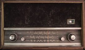 Old radio transistor Royalty Free Stock Image