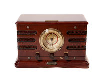 Old radio tuner Royalty Free Stock Images