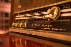Old radio tuner Stock Photos