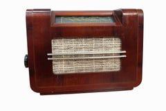 Old radio tuner Stock Photo