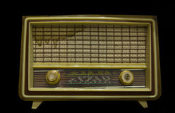 Old radio from 1950 Royalty Free Stock Photography