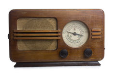Old radio Stock Image