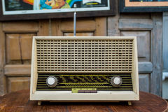 Old radio. Royalty Free Stock Image