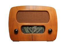 Old radio3 Stock Photo
