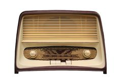 Old radio4 Stock Image