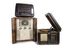 Old Radios Royalty Free Stock Photos