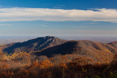 Old Rag in Virginia in fall Royalty Free Stock Photography