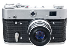 Old ragefinder camera Royalty Free Stock Photography