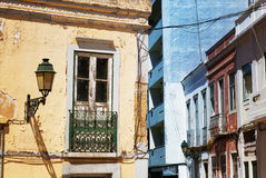 Old ragged balcony Royalty Free Stock Images