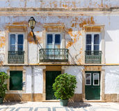 Old ragged building Royalty Free Stock Photography