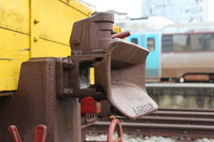 Old rail engagement Royalty Free Stock Image