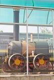 Old rail road locomotive Stock Photos