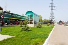 Old rail road locomotive Royalty Free Stock Image