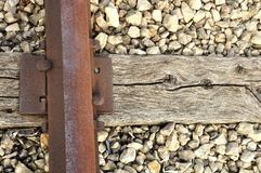 Old rail and tie Royalty Free Stock Photo