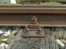 Old rail track Royalty Free Stock Images