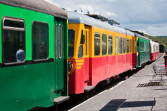 Old railcar Royalty Free Stock Photography