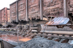 Old railcar Royalty Free Stock Images