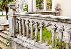 Of the old railing Royalty Free Stock Photography