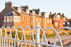 Old railings Royalty Free Stock Images