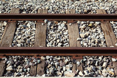 Old railroad. Of thailand's train Stock Photo