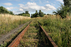Old railroad royalty free stock images
