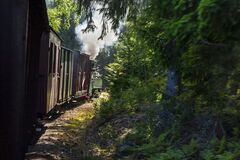 Free Old Railroad And Train Museum In Ohs, Sweden Royalty Free Stock Photo - 209837325