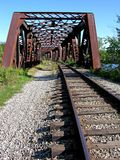 Old Railroad Bridge Stock Image