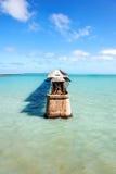 Old Railroad Bridge, Florida Keys. Florida, USA Royalty Free Stock Photography