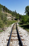 Old railroad Stock Photo