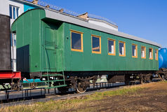 Old railroad car Royalty Free Stock Photos