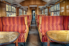 Old railroad carriage Stock Images