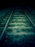 Old railroad Stock Images