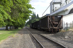 Old railroad old town america Royalty Free Stock Images