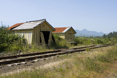 Old Railroad Station Royalty Free Stock Photography