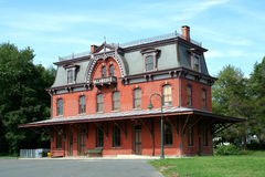 Old railroad station in Hopewell New Jersey Royalty Free Stock Photos