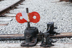 Old Railroad Switch Royalty Free Stock Images