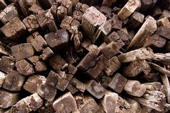 Old Railroad Ties Stock Image