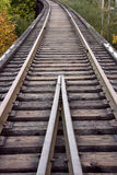 Old railroad track Royalty Free Stock Photos