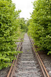 Old Railroad Track Royalty Free Stock Photography