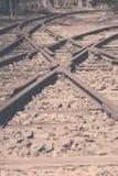 Old Railroad Tracks Royalty Free Stock Photo
