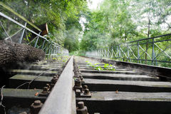 Old rails Stock Photography
