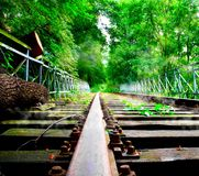 Old rails Royalty Free Stock Photography