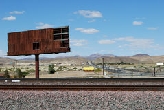 Old Railway. Photo of Old Railway at Arizona desert, USA Royalty Free Stock Images