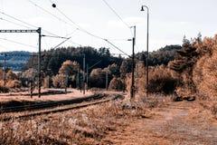 Old railway Stock Image