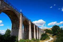 Old railway bridge Royalty Free Stock Image