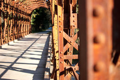 Old railway bridge Royalty Free Stock Images