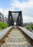 Old railway bridge Royalty Free Stock Photo