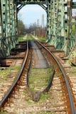 Old railway and bridge Stock Photography