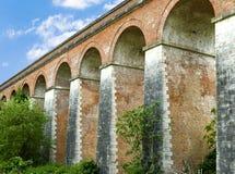 Old railway bridge in Tuscany Stock Image